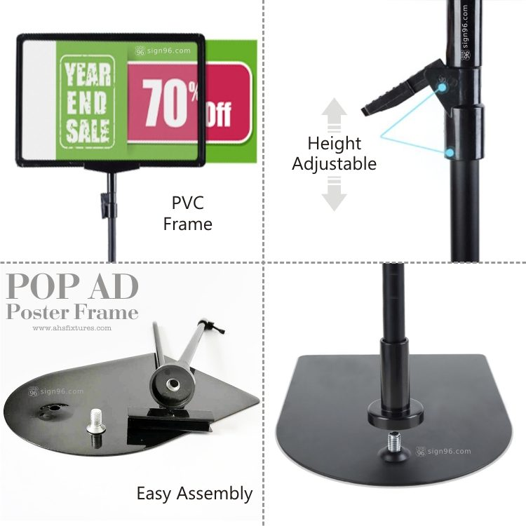 FRM-250 A4 Frame Adjustable Stand 03