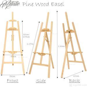 FWE-001 Pine Wood Easel 03