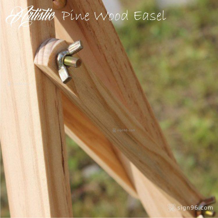 FWE-001 Pine Wood Easel 05