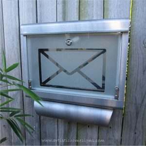 MLB-301T Galvanized Steel Inifiniti Mailbox