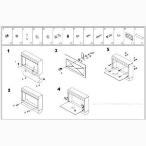 MLB-301 Inifiniti Mailbox Mounting Instruction