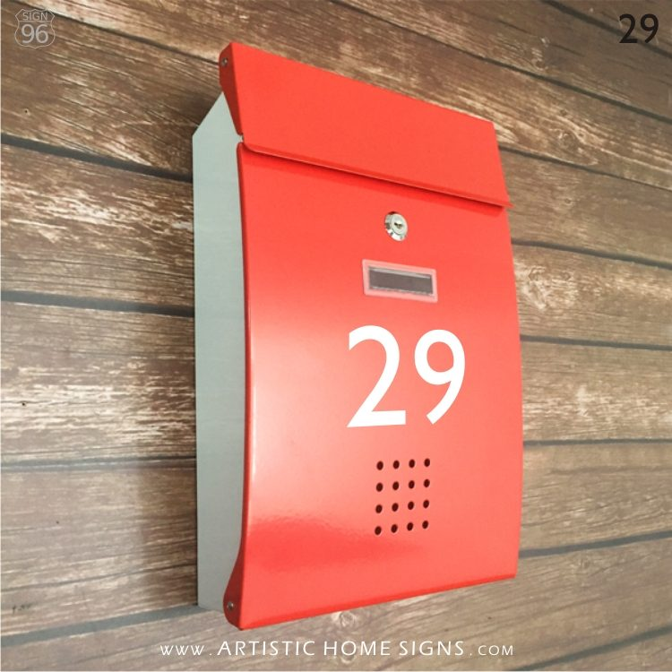 MLB-306 Vienna Mailbox