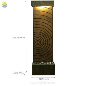 WWG-415 Imprint Art Glass Wall Fountain 02