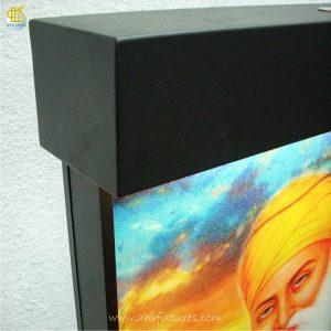 WWG-610 Guru Nanak Art Glass Wall Fountains 03