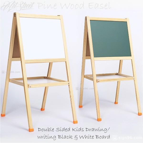 Pine Wood Kind Easel Drawing Board