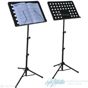 Durable Music Book Menu Stand