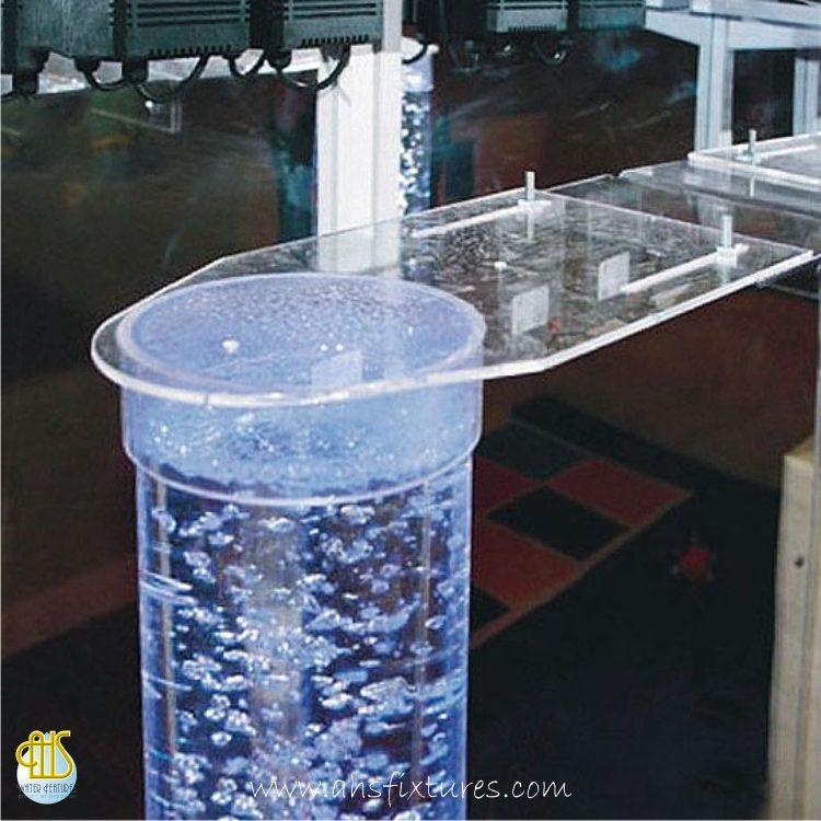 Acrylic Bracket for Sensory Room Bubble Column Tubes Custom made in Malaysia
