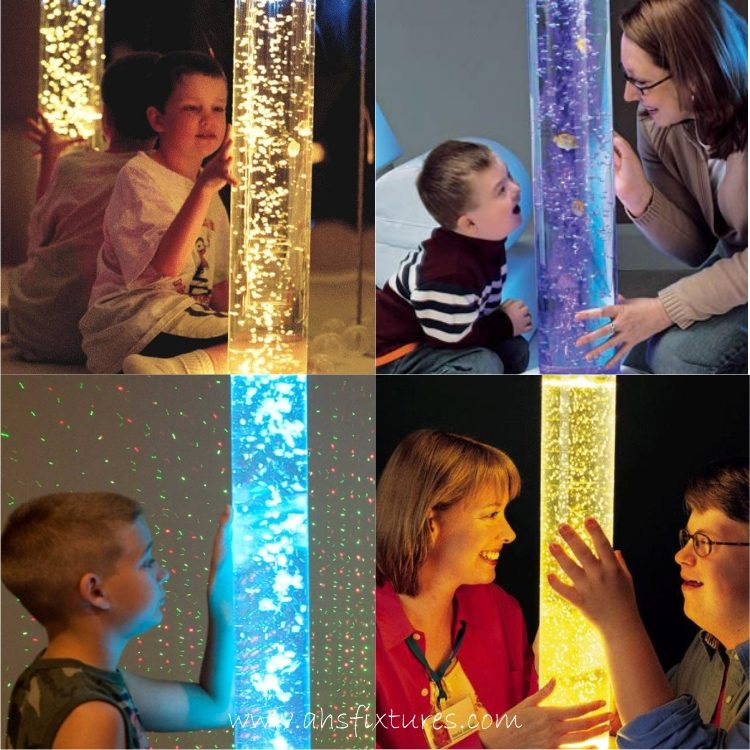 Sensory Room Bubble Column Water Features Made In Malaysia