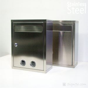 MLB-311 Stainless Steel Mailbox SS Suggestion Box 03
