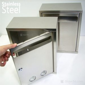 MLB-311 Stainless Steel Mailbox SS Suggestion Box 05
