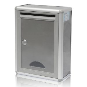 MLB-402 Aluminium Suggestion Box Mailbox Letter Box Plain 03