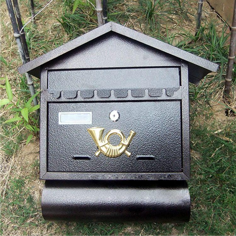 MLB-501 Cottage Letter Box Mailbox 01
