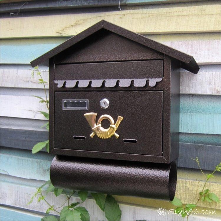 MLB-501 Cottage Letter Box Mailbox 06