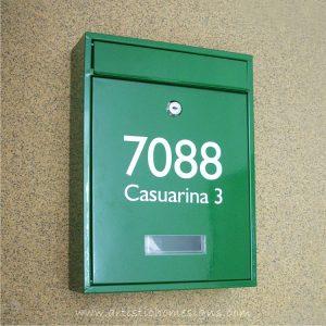 MLB-506 Tenuous Basic Powder Coated Metal Mailbox 02