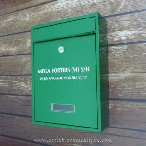 MLB-506 Tenuous Basic Powder Coated Metal Mailbox 03