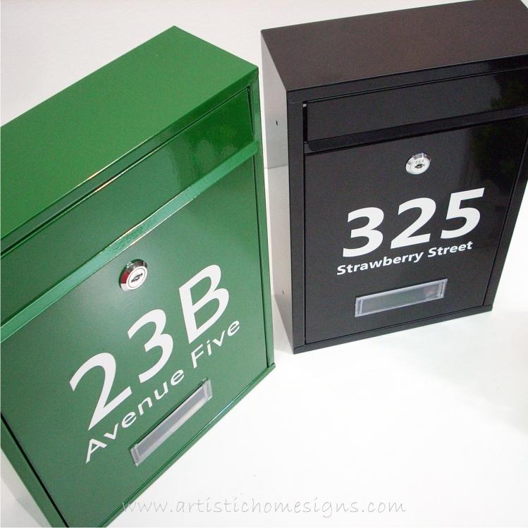MLB-506 Tenuous Basic Powder Coated Metal Mailbox 09