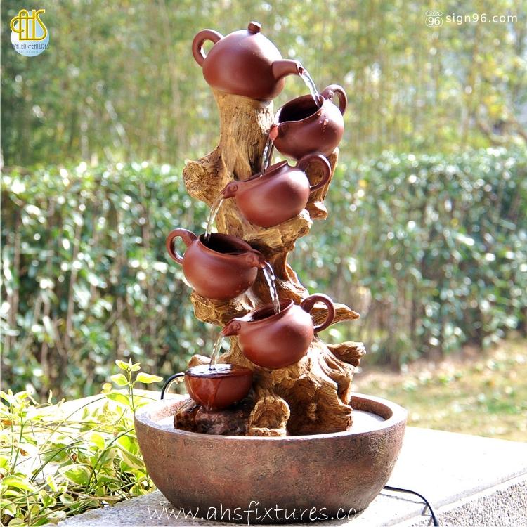 Oriental Stylish Tea Art Fountain WTT-114 Malaysia Home Decor AHS Fixtures