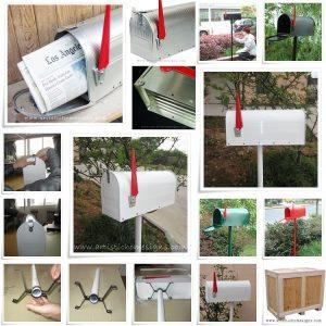 US Mailbox Letterbox Postbox Peti Surat MLB-601