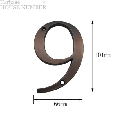 Cast Alloy Zinc Haritage House Address Number With Copper Polish Finishing LTR-503-CP MALAYSIA HOUSE NUMBER ADDRESS SIGN