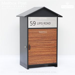 Cottage Parcel Pal Drop Box Mailbox Letterbox MLB-631 Custom Made Address Number Sign in Malaysia