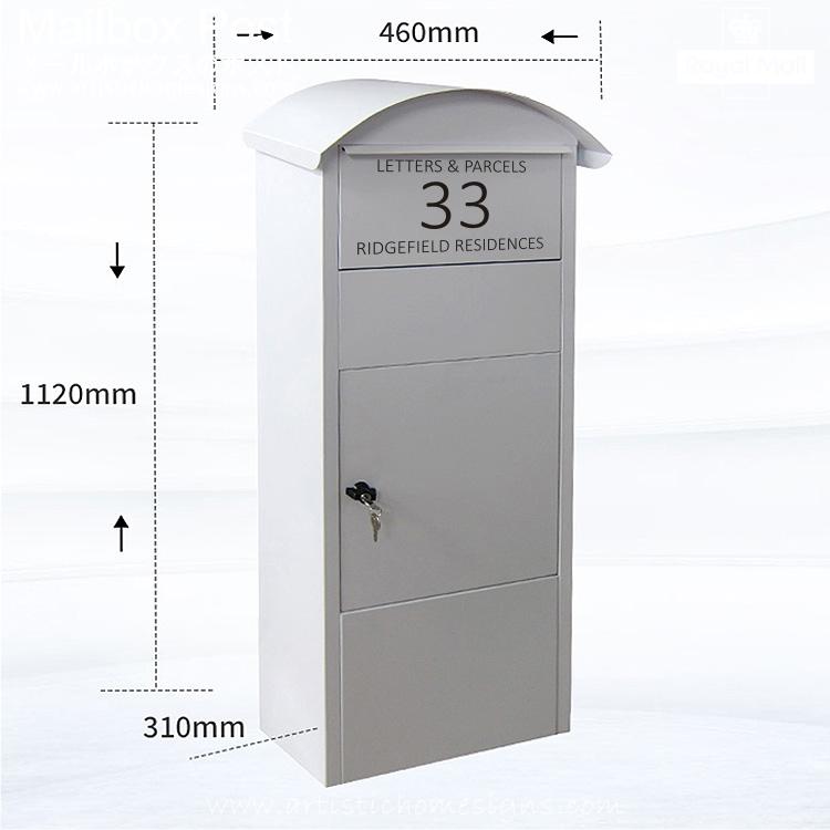 Lovica Parcel Pal Drop Box Post Mailbox Letterbox MLB-633 Malaysia Home Decor