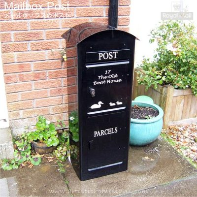 Ukay Post Parcel Pal Drop Box Mailbox Post MLB-634 Malaysia Home Decoration Production House